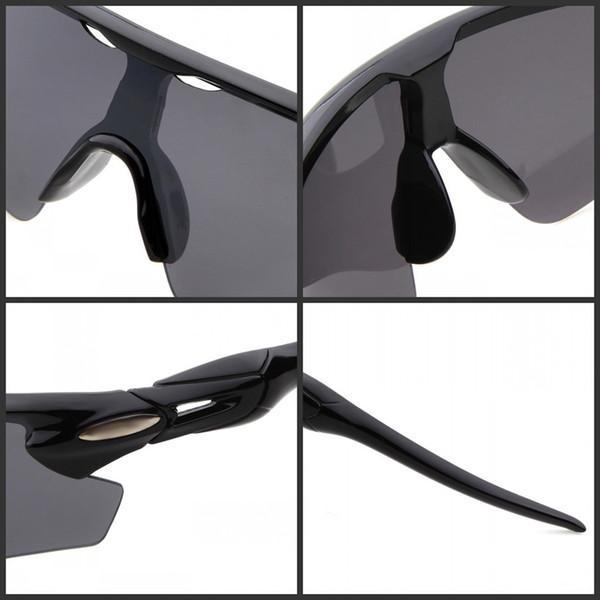 Großhandels-Markendesignersonnenbrillemannfrauen Fahrradsonnenbrille der neuen Art und Weisemänner Sports die Radfahrenschutzbrillen, die Gläser mit Kleinkasten fahren