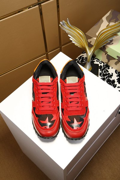 2019 Newest Suede Calfskin Lycra High top Sneaker Mens Fashion Brand Shoes Women Top Quality Luxury Designer Sneakers hy180323