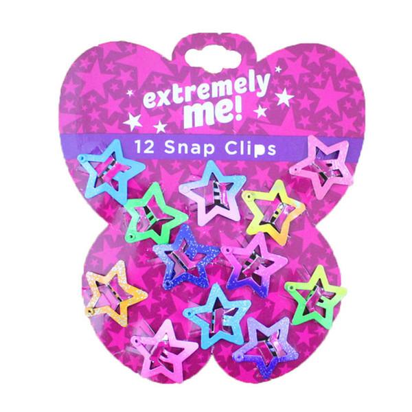 Neue angekommene niedliche Schmetterling BB Clips Stern Mädchen Haarspangen Kinder Haarspangen Haarspangen Zubehör Großhandel Designer Haarspange A4074