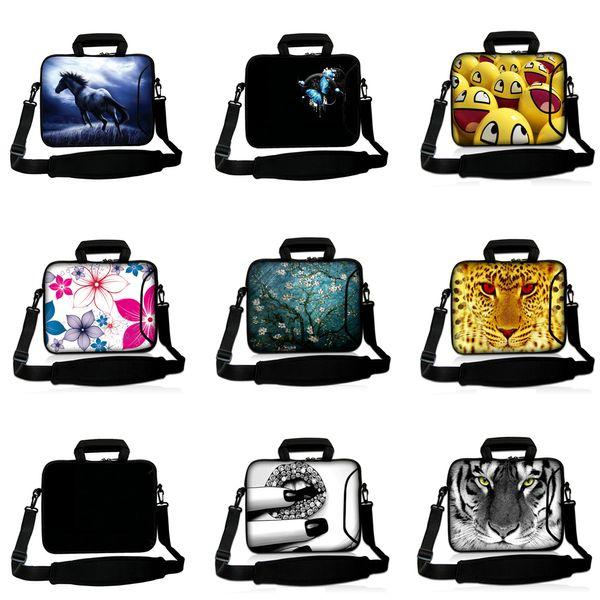Viviration Soft Messenger Handle Carry Bag New 10 12 13 14 15 15.4 15.6 17 inch Notebook Laptop PC Shoulder Strap Briefcase Case