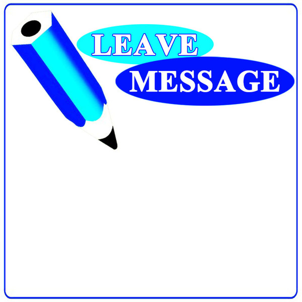 deixar a mensagem