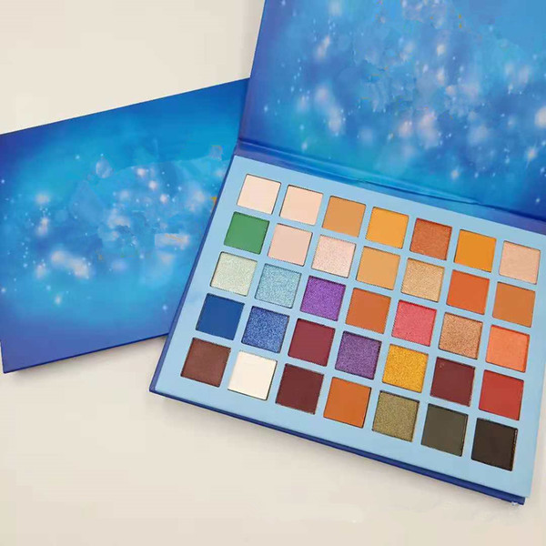 top popular Newest makeup Palette Beauty Creations Olivia 35colors Eye shadow Palette Shimmer Matte High quality DHL shipping 2019