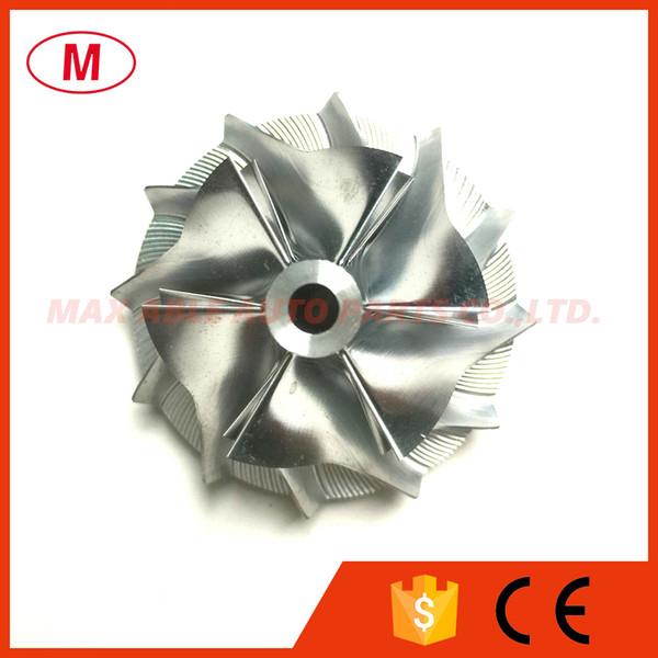 KP35 29.45/41.00mm 6+6 blades High Performance Turbo Aluminum 2618/Milling wheel/Billet Compressor wheel for 1000-988-0018