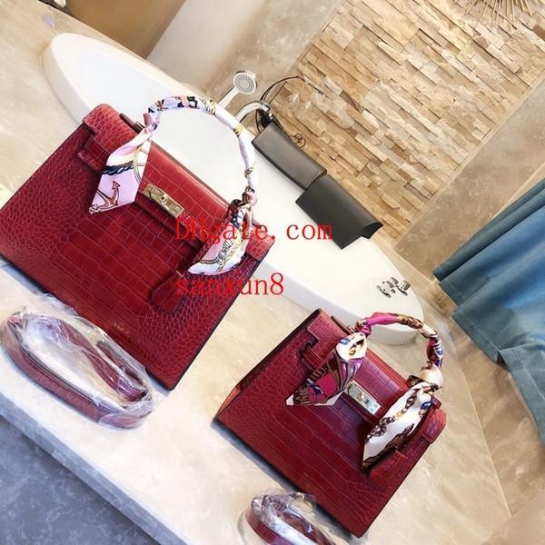 176ede59cb24 Модная классическая элегантная сумка двойного назначения Messenger Личность  с принтом Кожаная сумка Totes Кошелек Сумки через