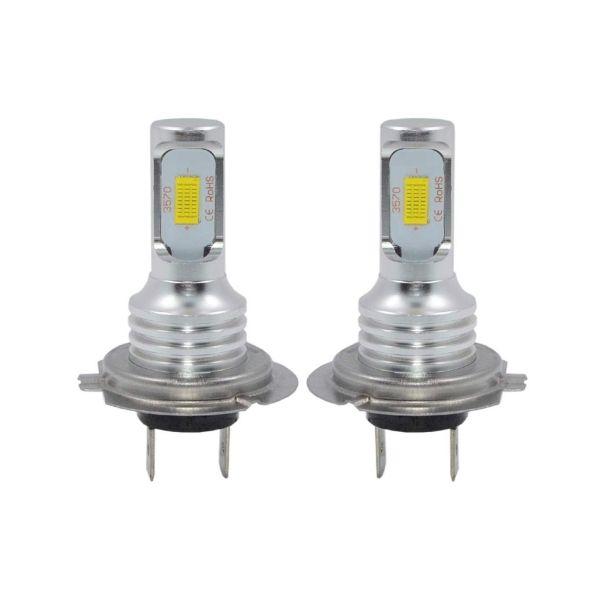 2шт супер яркий H7 CSP 3570 CANBUS светодиодные лампы фар H1 H3 H8 H11 9005 9006 H10 HB3 / 4 880 881 работает вождения противотуманные фары лампы DRL 6000K 12V DC
