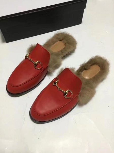 only red leather