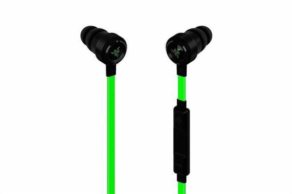 Venta caliente Razer Hammerhead Pro V2 para auriculares en el auricular del oído con el micrófono con la caja al por menor en los auriculares del juego del oído Envío libre