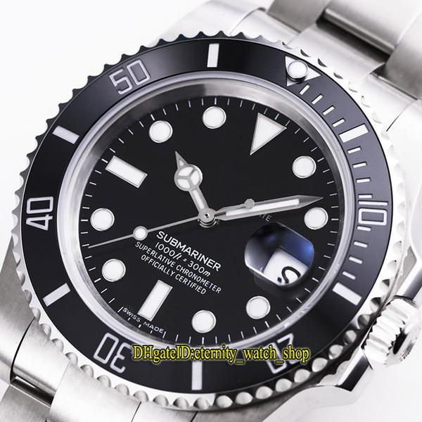 V9 Strongest version 116610LN-97200 Swiss Cal.3135 Automatic 116610LV Mens Watch 904L Steel Band Ceramics Bezel Blue Luminous Sport Watches
