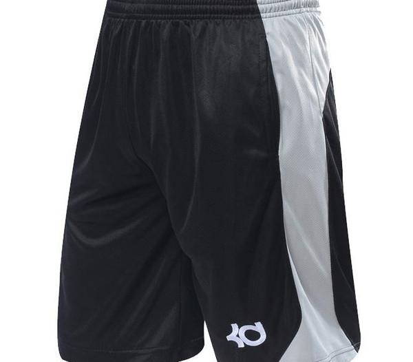 NUOVO 2016 Marca Athletic KD Gym Shorts di sport che funziona knee-lunghezza Elastica allentato Pocket Basketball Shorts Plus Size XL-4XL CALDO