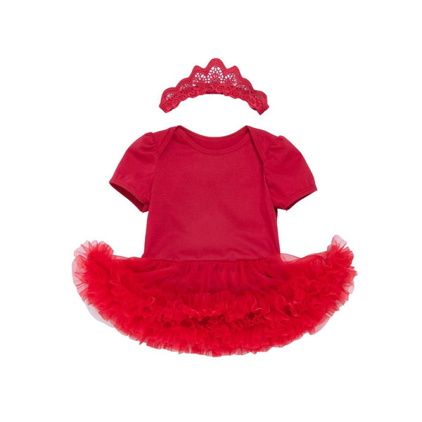 Baby Girls Short Sleeve Dresses One Piece Angel Wings Outfits Tulle Flower Dresses with Headband