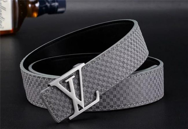 Fashion casual leather belt for men and women accessories designers high quality men and women belt width 3.8
