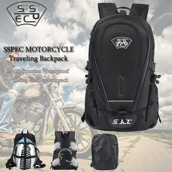 Motorcycle Bag Waterproof Motorbike Backpack Motorcycle Helmet Backpack Luggage Moto Traveling Racing Riding Bags Free Shipping