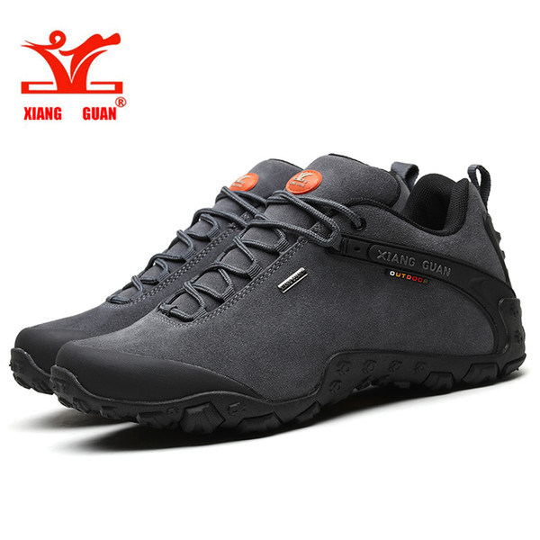 best selling XIANG GUAN man outdoor hiking shoes slip resistant windproof hiking Sneaker Anti fur sports sneakers high quality 40-46