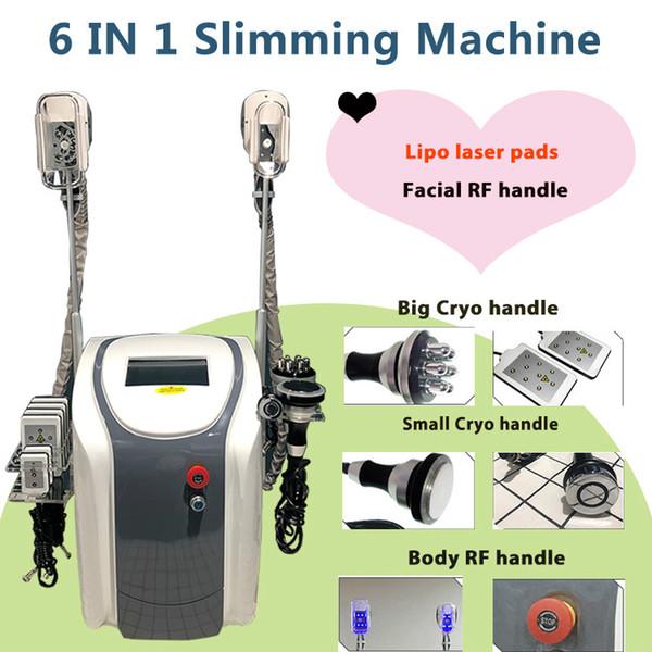 High quality Liposuction Laser machines fat freeze machine lipolaser personal use cold lipo laser ultrasonic cavitation slimming machine DHL