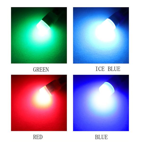 WTS 500 adet T10 LED 194 W5W lamba 2smd LED okuma Ampuller Araba parlak siganl ışık Oto Kama İç Işık Dome Harita Gövde lambası