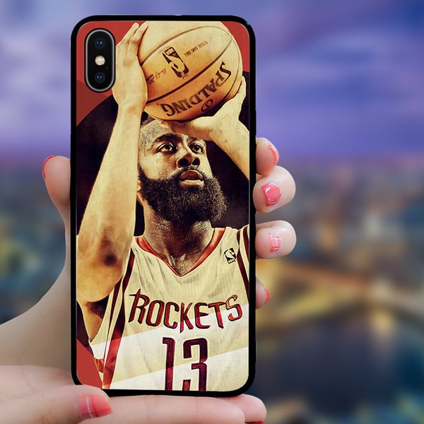 2019 Designer Sports Start Phone Cases for IPhone XSMAX XS XR X 6 7 8 Plus TPU Fashion Cover for Men Women