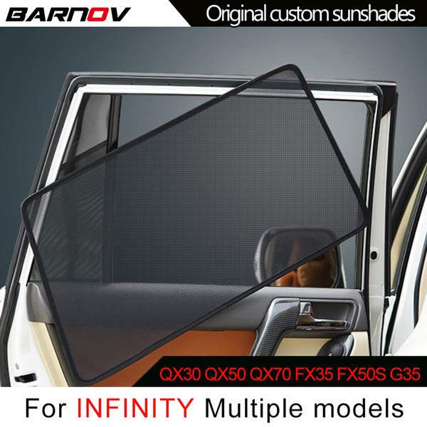 Барны автомобиль Специального занавес окно зонты сетка Shade Blind Оригинал на заказ для INFINITY QX30 QX50 QX70 FX35 FX50S G35