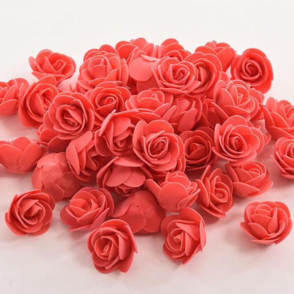 150 adet çiçek kırmızı