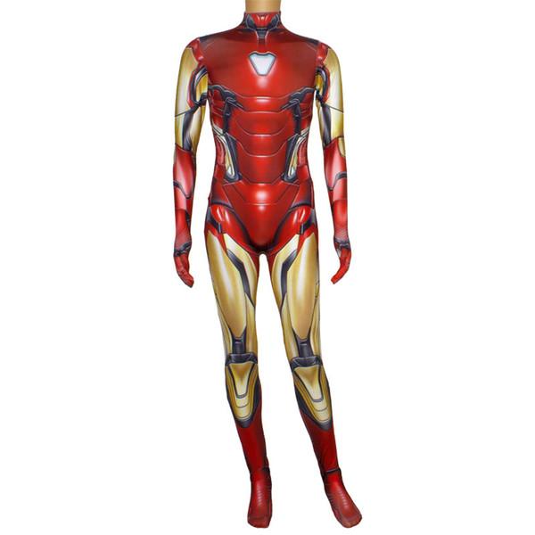 Spider-Man.Halloween Spider-Man-Kostüm Kostüm Amazing Spider-Man Cosplay Kostüm Kostüm, Unterstützung für ein Stück Haar