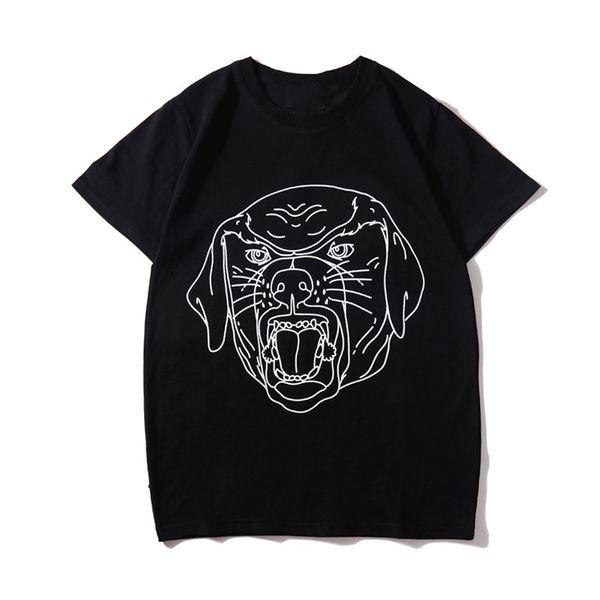 Lüks Yaz T Gömlek Moda Hayvan Baskı Erkek Tasarımcı T Shirt Kısa Kollu Erkek Kadın Yüksek Kalite Casual Tees