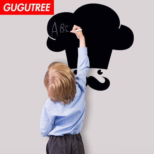 Acheter Décorer La Maison Tableau Noir Art Sticker Mural Décoration Stickers Peinture Murale Amovible Décor Papier Peint G 2615 De 3 02 Du