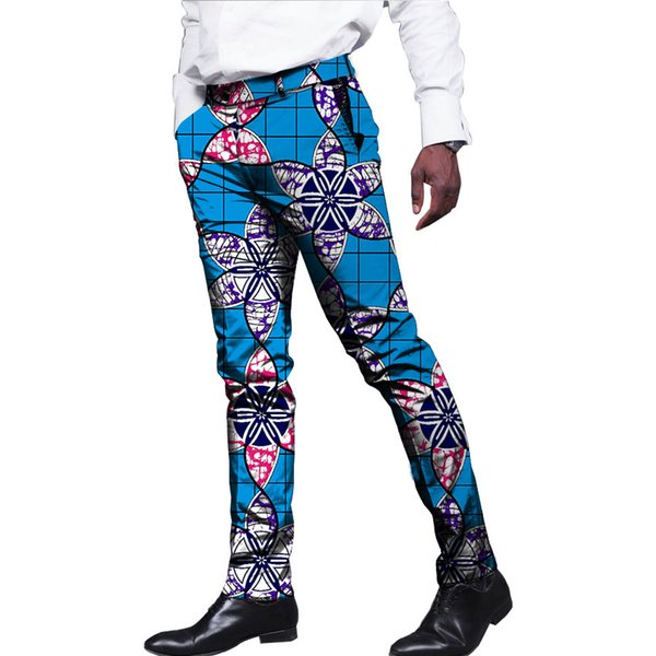 African Men Print Dress Pants Man African Trousers Dashiki Festive Pattern Full Length African Men Clothing Customized For