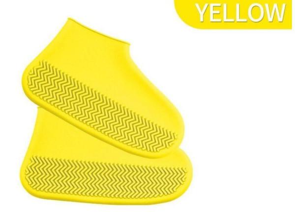 Botas de chuva de silicone definir sapatos à prova d 'água capa de espessura não-deslizamento resistente ao desgaste sapatos capa meninos e meninas botas de chuva ao ar livre