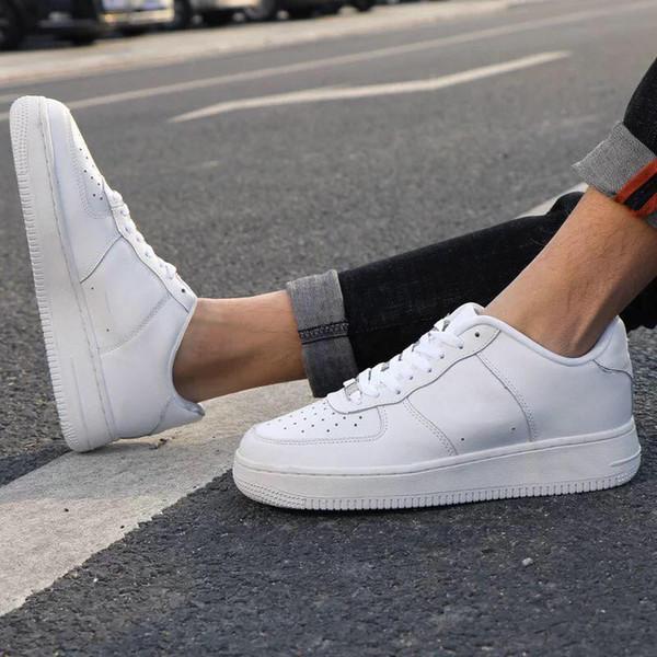 Compre Nike Air Force 1 2019Hot Marca New AF1 1 07 LV8 Utility Mid 07 Alta De Baixo Red Black White Mulheres Homens Desenhista Calça Skateboad