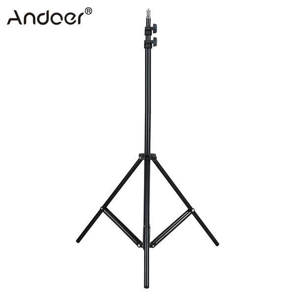 "ripod Accessories Tripods 2m/6.6ft Light Stand Tripod w/ 1/4\"" Screw for Studio Photo Video Lighting Softbox Flashgun Lamps Umbrella Refl..."