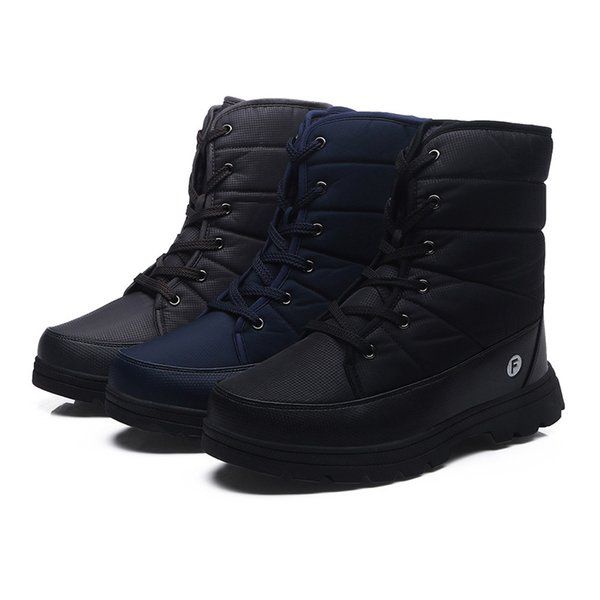 2019 women boots winter warm snow boots fashion ankle flock winter shoes woman motorcycle nonslip keep warm shoes