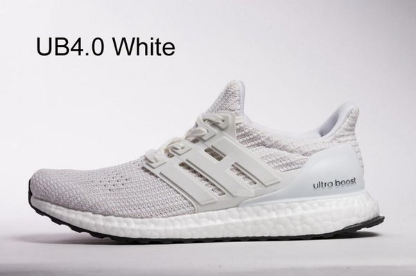 2019 UltraBOOST By Running At DHgate, Ultra Boosts Shoes Product Size 13 Men Women Sneakers Of Your Choice Triple White Black Multi Color Trainer From