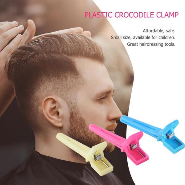 Dropshipping 50 pcs En Plastique Prong Alligator Pinces À Cheveux Coiffure Barrettes Plat Épingles À Cheveux Enfant Cheveux Styling Outils