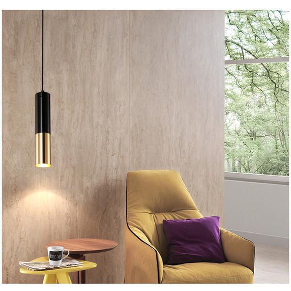 Compre Luces Colgantes Modernas Con Bombillas GU10 LED Lámpara De Comedor  Individual Lámparas De Barra Lámpara Colgante Iluminación Para Sala De  Estar ...