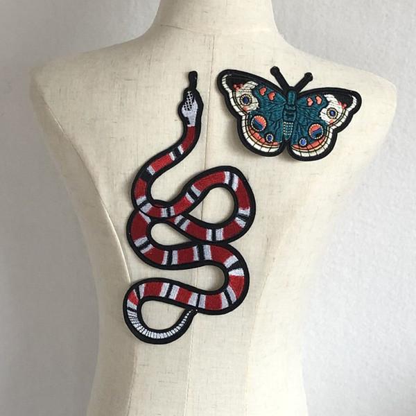 yılan kelebek