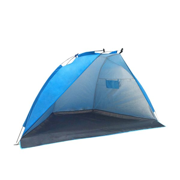 2 Persons Outdoor Beach Tent Shelter Summer Uv Protection Tent Sports Sunshade Camping Fishing Picnic