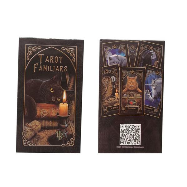 2019 nuevas tarjetas familiares de Tarot lisa parker Juego de mesa Juego de adivinación en español 78 cartas