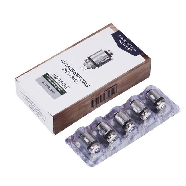 100% оригинал Justfog Q16 головка катушки 1.2 ohm 1.6 ohm органические японские замена катушки OCC для C14 P14A P16a Q14 Q16 стартовый комплект подлинный