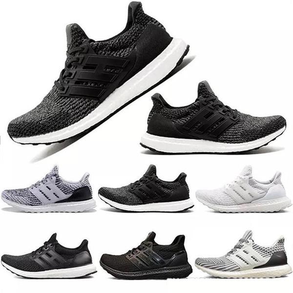 Neue Großhandel Ultra 4.0 3.0 Triple Weiß schwarz CNY grau Männer Frauen Laufschuhe Sport Mode Luxus Herren Damen Designer Sandalen Schuhe