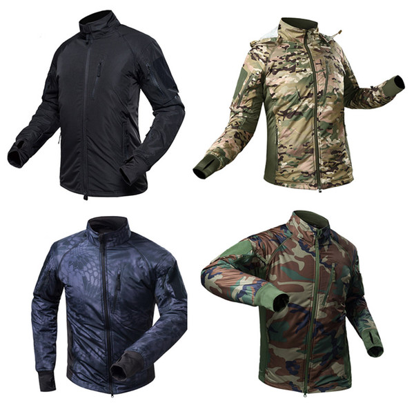 top popular Outdoor Sports Airsoft Gear Jungle Hunting Woodland Shooting Coat Tactical Combat Clothing Outdoor Jacket NO05-219 2021