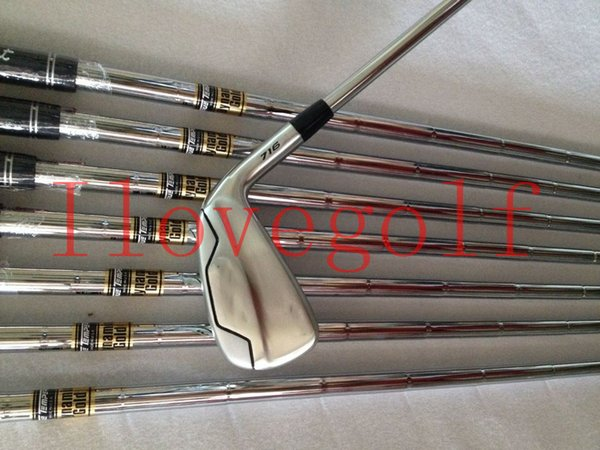 Golf Clubs 716 T-MB Golf Clubs Irons Set T-MB 716 Clubs Golf 3-9P Regular/Stiff Steel/Graphite Shafts With Headcovers DHL Free Shipping