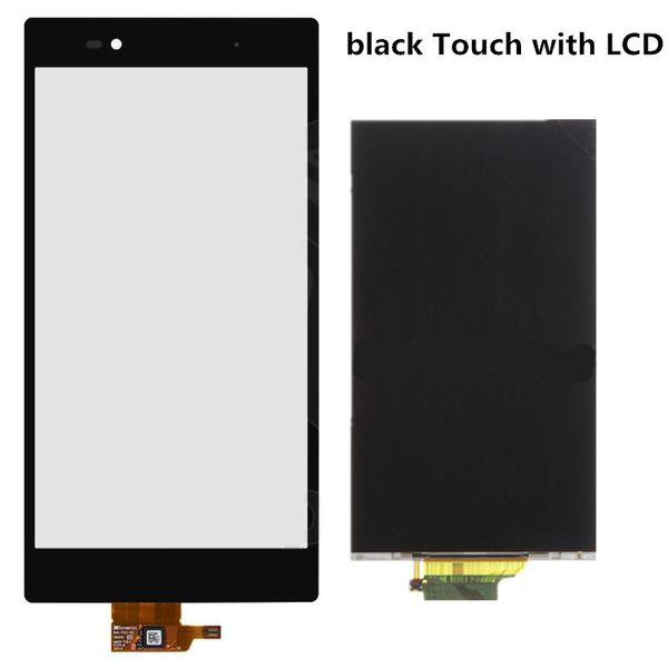 Toque negro con LCD