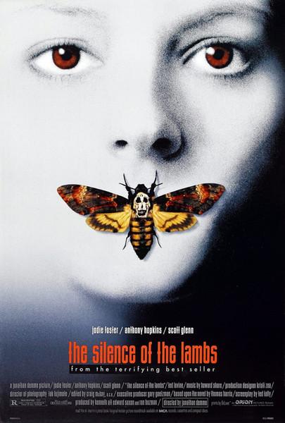 O SILÊNCIO DOS CORDEIROS Movie wall decor Art Silk Print Poster 87