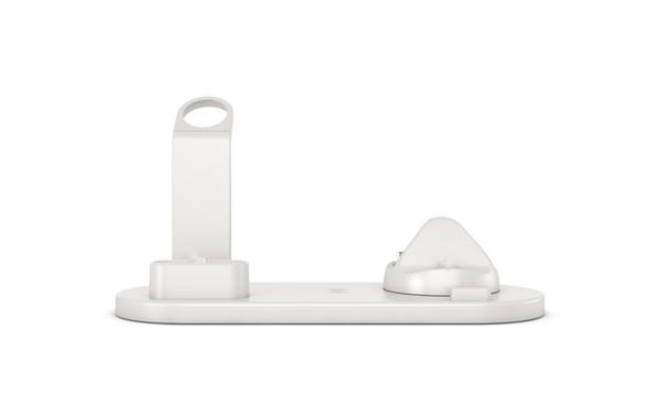 5 en1 multifonction sans fil mini-chargeur rapide pour téléphone Regarder AirPod bureau