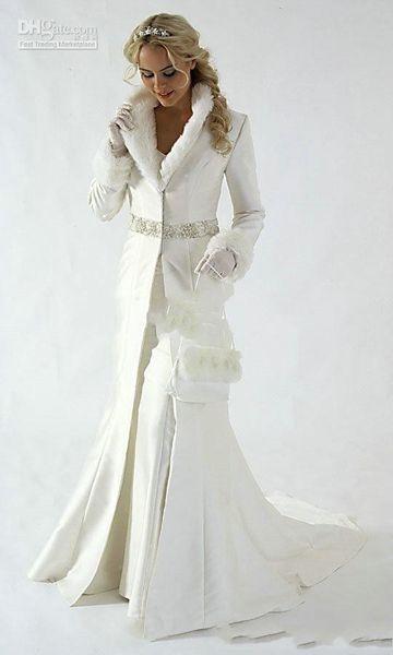 Capa de novia de la boda chaqueta de abrigo de noche largo del Cabo Tippet robó la capa del mantón Bolero tela de satén personalizado piel de imitación de lentejuelas con cuentas de tren Blanca