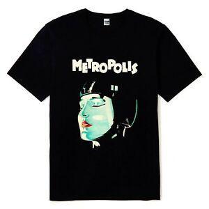New Metropolis 1927 Classique Vintage Film Noir Tee shirt Homme Tailles S M L XL 2XL