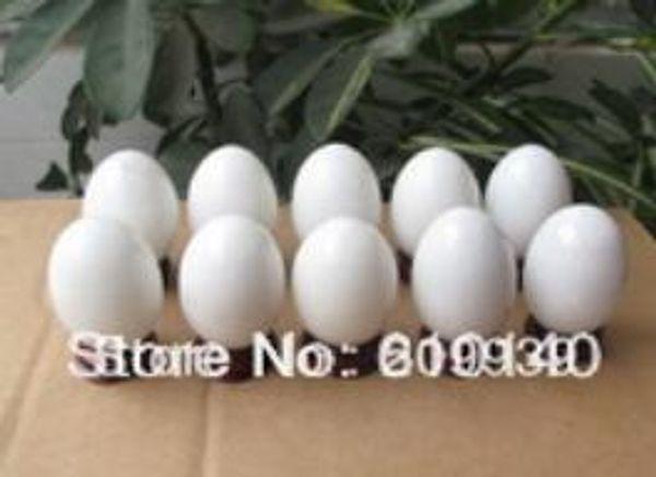 Nuevo ++ SCY 10pcs NATURAL JADE CRYSTAL SPHERE BALL EGG HEALING + STAND