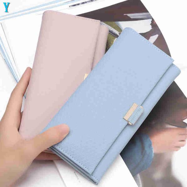 Nuovo progettista Tote Portafoglio alto modo di disegno classico casuale della carta di credito del raccoglitore del supporto ID cuoio di alta qualità del sacchetto dei pacchetti per WomenY