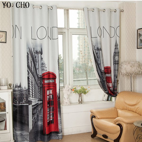 """made YO CHO [55\""""x102\"""" ] British Made ready 1 PANEL LINED THERMAL BLACKOUT GROMMET WINDOW CURTAIN DRAPE Curtains With London"""