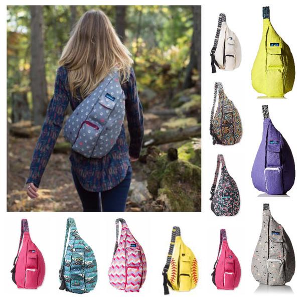 Designer di lusso unisex marsupio pettorali all'aperto borse sportive tracolla in tela pettorali regolabili borse da arrampicata da viaggio sacche roba