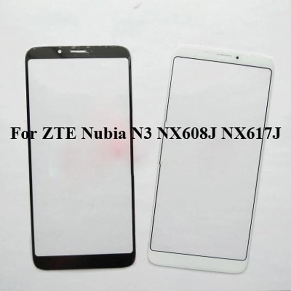 2PCS For ZTE Nubia N3 NX608J NX617J Glass Lens touchscreen Touch screen Outer Screen For Nubia N 3 Glass Cover without flex